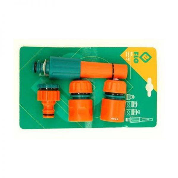 Antgalis laistymui plastmasinis reguliuojamas Flo 1_2″, 3_4″, 4 vnt.