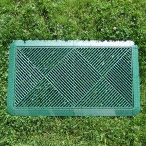 plastikinės plytelės green