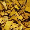 Dažytos spygliuočių medienos mulčias, geltonas, 20-40 mm, 50 l