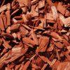 Dažytos spygliuočių medienos mulčias, raudonas, 20-40 mm, 50 l