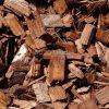 Dažytos spygliuočių medienos mulčias, rudas, 20-40 mm, 50 l