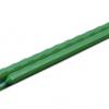 Metalinis strypas, aplietas plastiku – 0,8 x 60 cm – Rinkinys (10 vnt.)