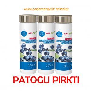Trąšos, šilauogių dirvos rūgštingumo reguliavimui Spray plius 200 ml